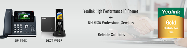 NETXUSA and Yealink Reliable Solutions