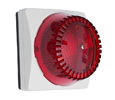 ALGO Analog FXS High Intensity LED Strobe Light with Red Lens Cover for Ring Notification (1128R)