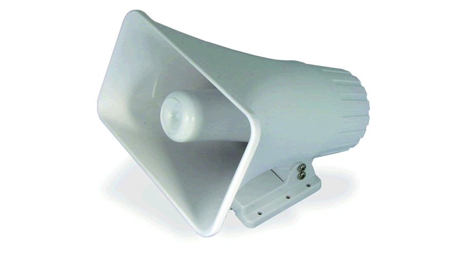 ALGO Weatherproof Horn Speaker for Telephone Loud Ringing and Paging Notification - Open Box