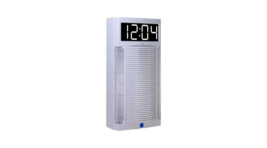 ALGO SIP/IC Wall Speaker And Clock