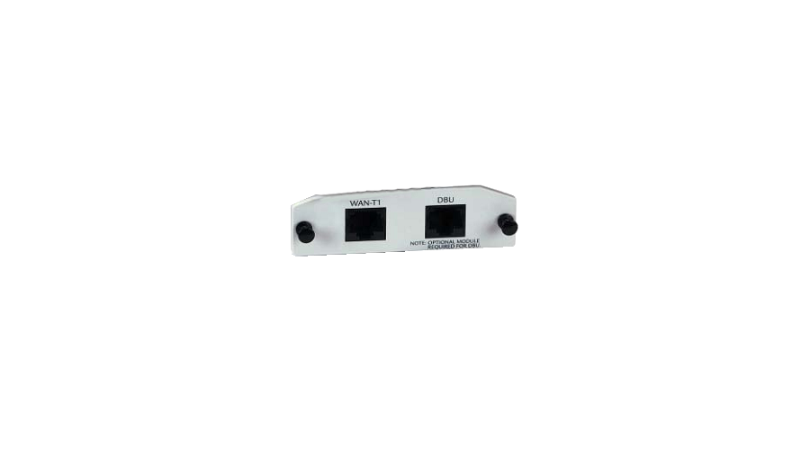 Adtran NetVanta T1/FT1 Network Interface Module