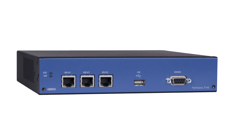 Adtran NetVanta 3140 Fixed Port Secure Access Rack-Mountable Ethernet Router