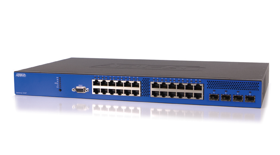 Adtran NetVanta 1544P 28-Port PoE Layer 3 Gigabit Ethernet Switch