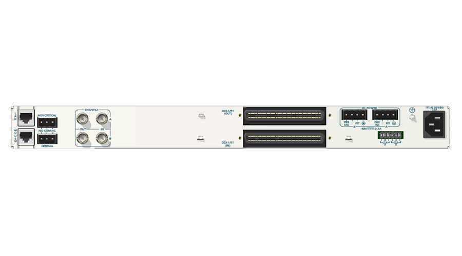 Adtran MX2800 DS3 AC Redundant with RJ Patch Panel
