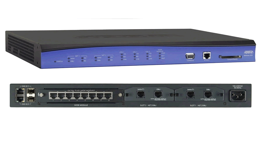 Adtran NetVanta 4430 with Session Border Controller and SBC Feature Pack (300 Simultaneous Calls)-Open Box