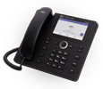 AudioCodes Teams C450HD IP-Phone PoE GbE black with an external power supply black