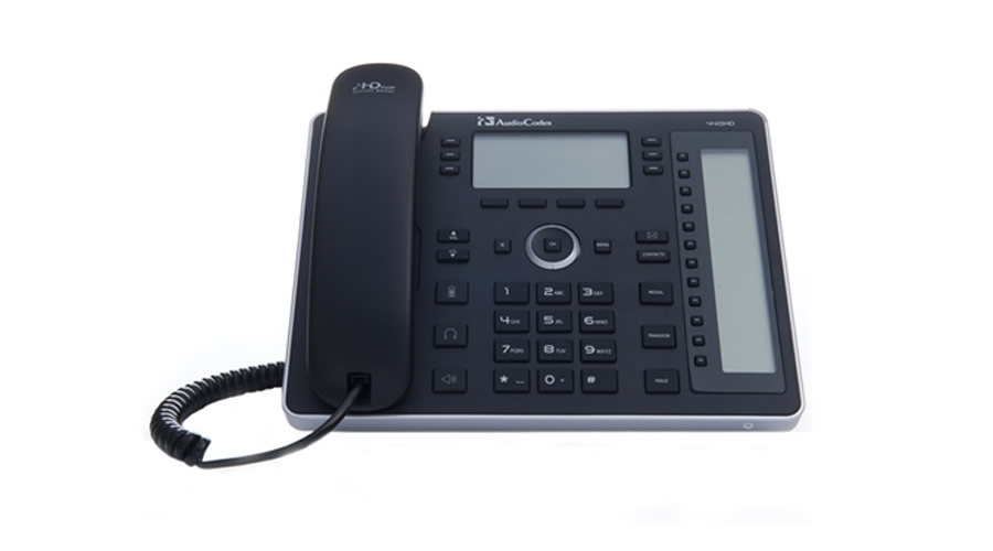 AudioCodes 440HD IP-Phone with GbE and PoE