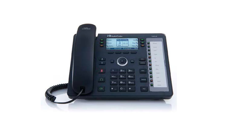 AudioCodes 430HD IP-Phone PoE - Includes Power Supply