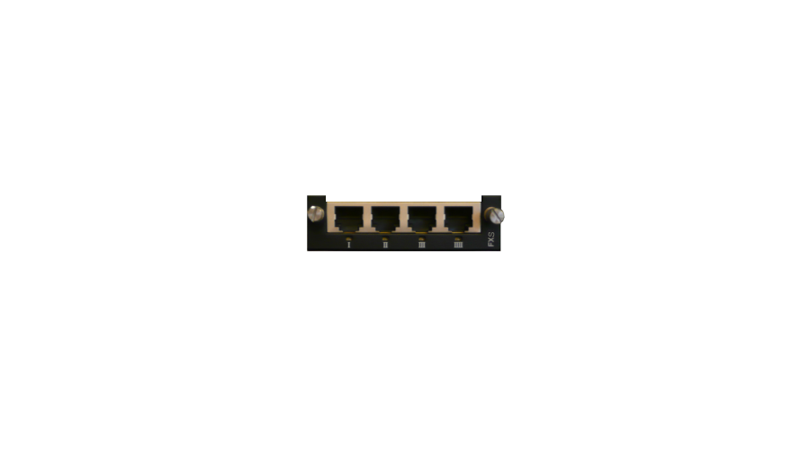 AudioCodes Mediant 1000 Spare part - Analog Voice Module - Quad FXS