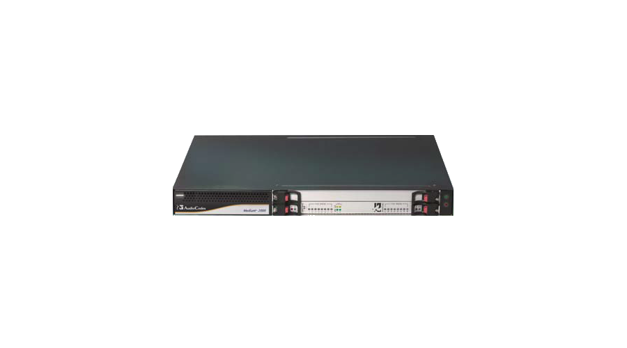 AudioCodes Mediant 2000 VoIP Gateway, 1 span E1/T1, SIP package
