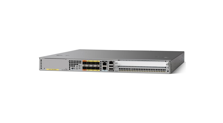 Cisco ASR 1001-X System, Crypto, 6 built-in GE, Dual P/S