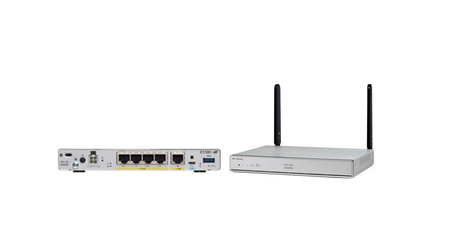 Cisco ISR 1100 4-Port Dual GE WAN Router With DNA Support
