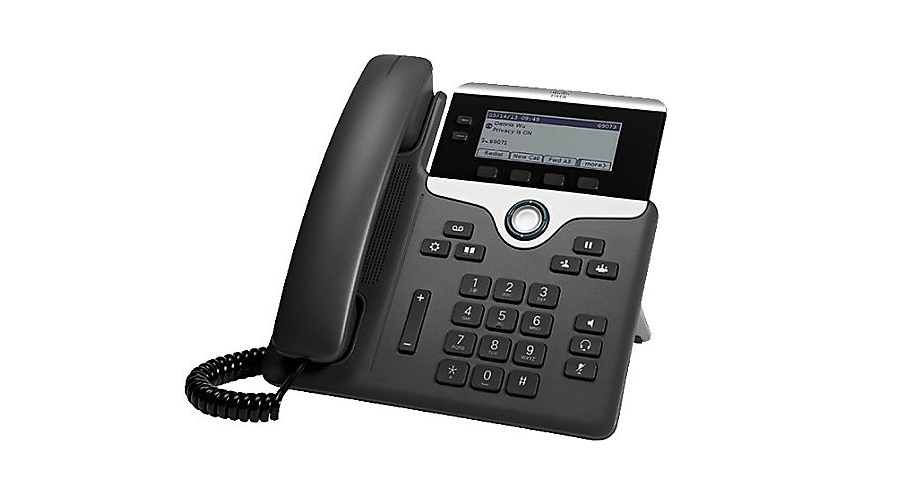 Cisco 7821 IP Phone with Multi-platform Phone Firmware - Includes Power Supply