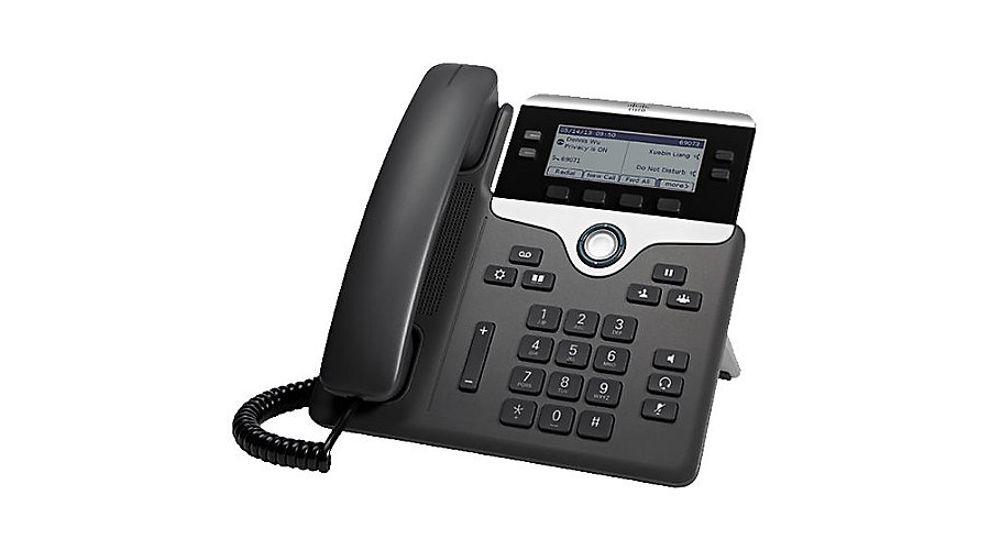 Cisco 7841 IP Phone with Multi-platform Phone Firmware - Includes Power Supply