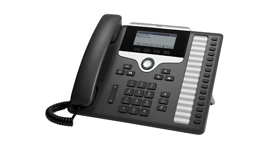 Cisco 7861 IP Phone with Multi-platform Phone Firmware - Includes Power Supply