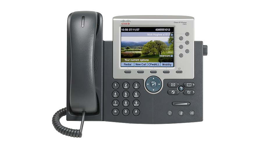 Cisco 7965 IP Phone - 6 Line - Color Touchscreen Display - Spare