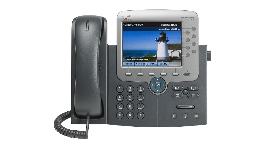 Cisco 7975 IP Phone - 8 Line - Color Touchscreen Display - Spare