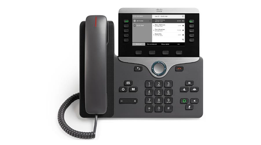 Cisco 8811 IP Phone with Multi-platform Phone Firmware - Includes Power Supply