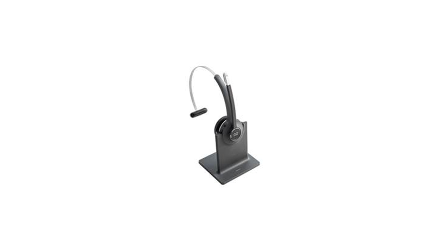 Cisco 561 Wireless Mono Headset with Standard Base Station.