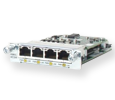 Cisco 4-port EtherSwitch 10BASE-T/100BASE-TX autosensing HWIC