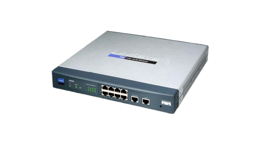 Cisco RV082 8-port Fast Ethernet VPN Router-Dual WAN - Open Box