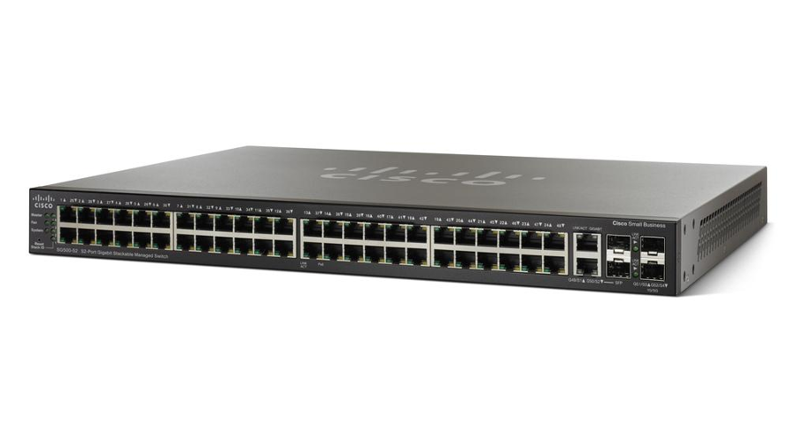 Cisco SG500-52 52-port Gigabit Stackable Managed Switch