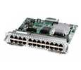 Cisco Enhanced EtherSwitch SM, Layer 2 switching, 23 ports FE, 1 port GE (SM-ES2-24)