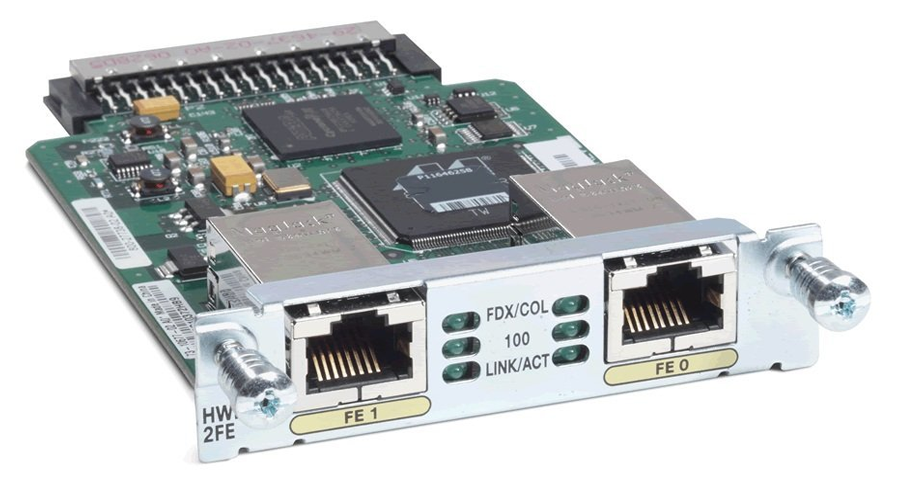 Cisco VWIC3-2MFT-T1/E1 Multiflex Trunk Voice/WAN Interface Card