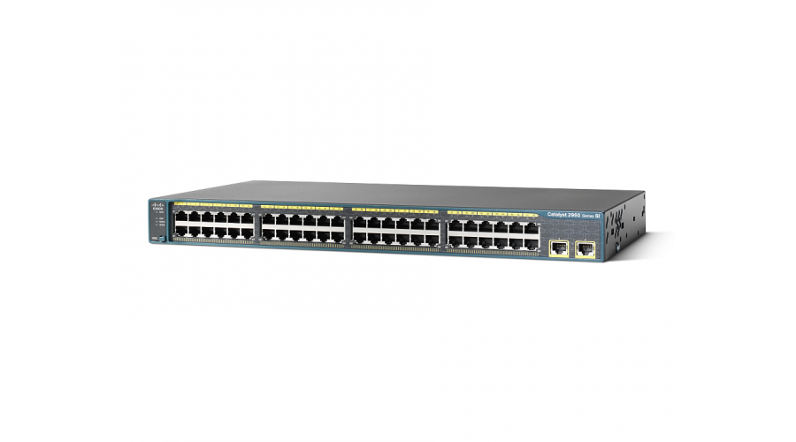 Cisco WS-C2960+48TC-S 48 Port Switch