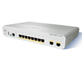 Cisco Catalyst 2960-C Switch 8 FE, 2 x Dual Purpose Uplink, LAN Lite