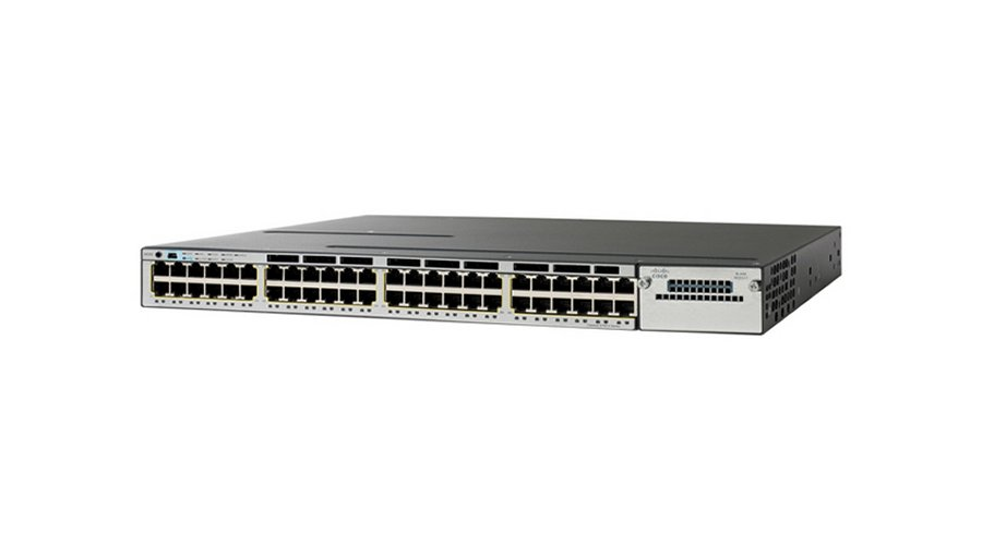 Cisco Catalyst 3750-G 48 Port Gigabit Ethernet PoE+ Switch