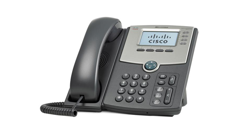 Cisco SPA514G - 4-Line IP Phone with 2-Port Gigabit Ethernet Switch, PoE, and LCD Display