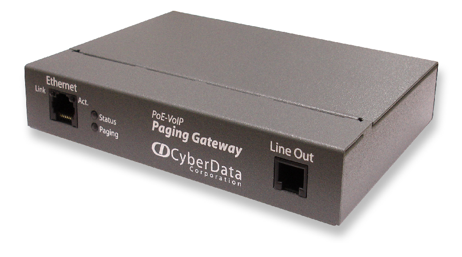 Cyberdata VoIP Paging Gateway - OPEN BOX