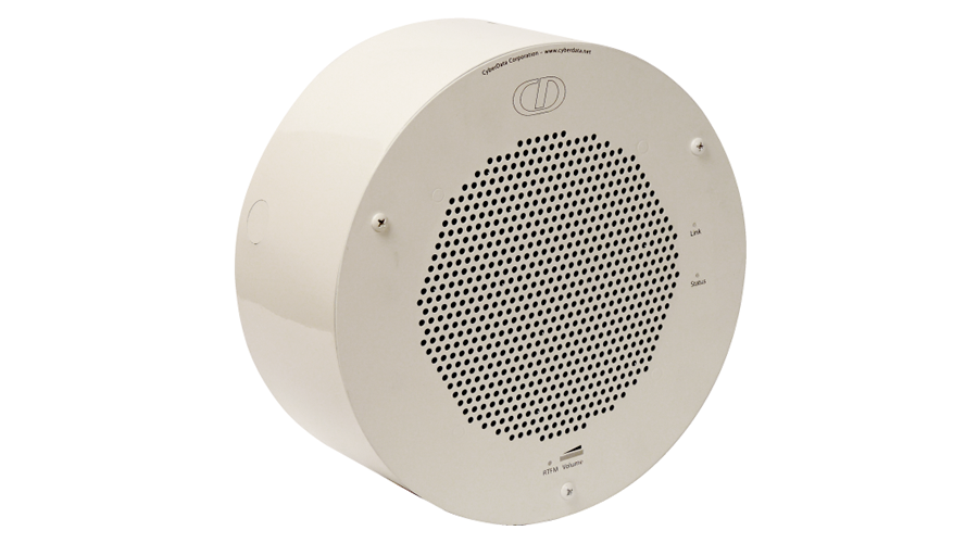 Cyberdata Conduit Speaker Mount (RAL 9002)
