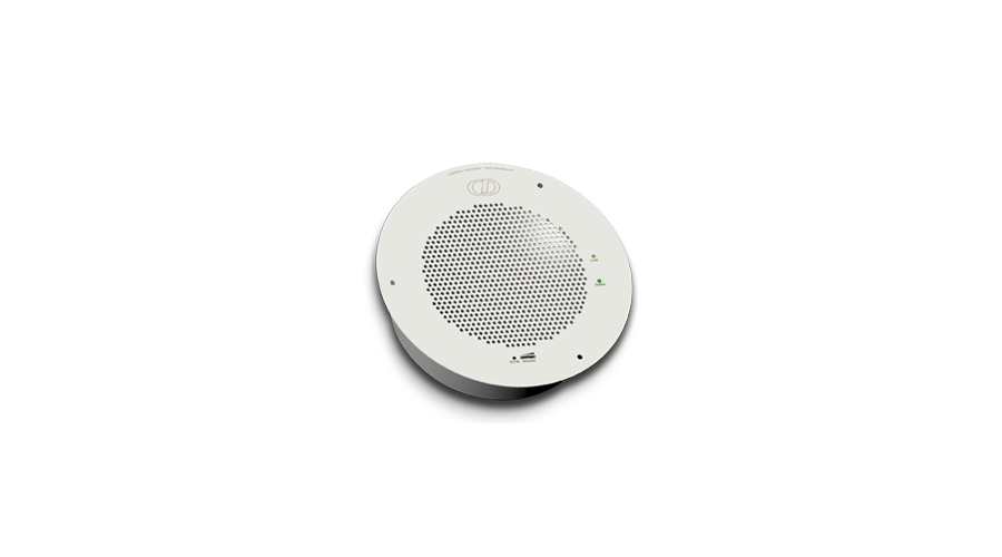 Cyberdata SIP-enabled IP Speaker (with Night Ringer) - Gray White