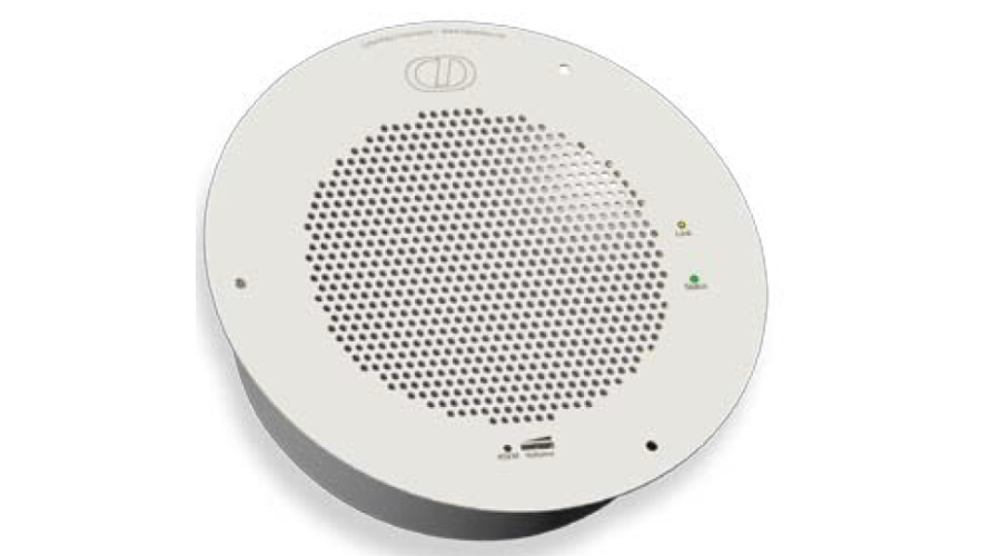 Cyberdata VoIP Syn-Apps Enabled IP Speaker - Gray White (RAL 9002)