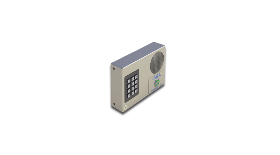 Cyberdata VoIP Intercom with Keypad (Wall-Mount) (Standard Color, RAL 9003, Signal White) - Open Box