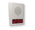 Cyberdata Wall Mount Clock Kit - Optional Color - Signal White (RAL 9003) (011154)