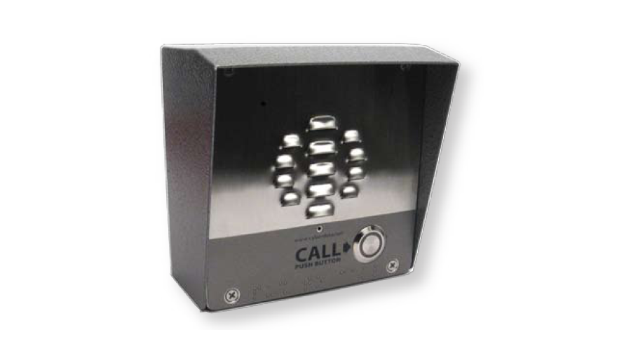 Cyberdata Outdoor Intercom Shroud (used with 011186)