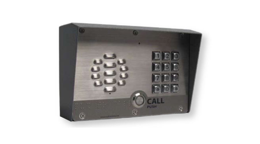 Cyberdata VoIP Outdoor Intercom, Singlewire-enabled With Keypad