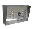Cyberdata SIP-enabled h.264 Video Outdoor Intercom with Keypad (011414)
