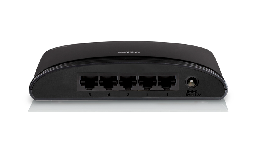 DLink 5-Port 10/100 Desktop Ethernet Switch