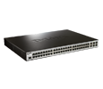 DLink 48-Port Fast Ethernet managed L2 switch with 2 Gigabit SFP ports and 2 Gigabit Combo BASE-T/SFP port
