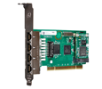 Digium TE436BF Four Span Digital T1/E1/J1/PRI PCI  3.3/5.0V Card and Hardware Echo Cancellation (1TE436BF)