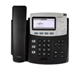 Digium Phone, D45 2-line SIP Phone with HD Voice, Gigabit, Backlit Display - Does not Include Power Supply