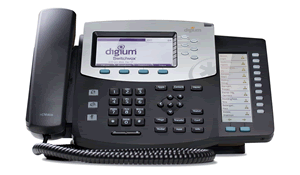 Digium Phone, D70 6-Line SIP with HD voice,  English Text Keys  -  Power Supply not Included