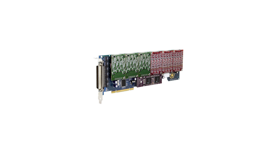 Digium TDM2400P Card with 12 Trunk Interfaces & HW Echo Can.
