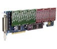 Digium TDM2400P - 24 Port Modular Analog PCI Card (1TDM2400PLF)