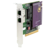 Digium 2 Span Digital T1/E1/J1/PRI PCI Card & HW Echo Can. (1TE212PF)