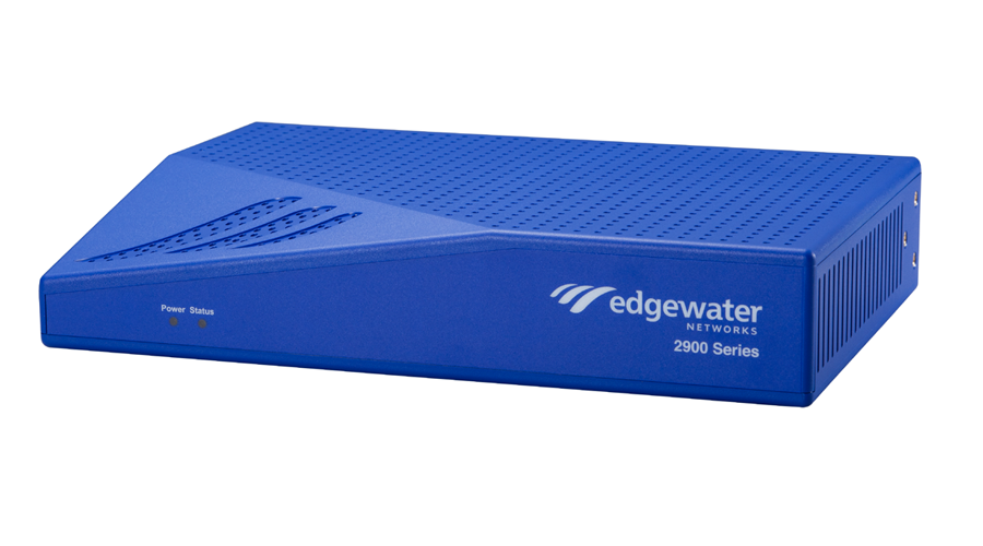 Edgewater Networks EM-2900A Intelligent Edge: 4GE, LAN, 2WAN, 6FXS, 2FXO, 5 call count, 1-year basic support w/surv